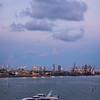 Twilight Over The Miami Harbour - Downtown Miami, Florida