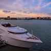 Sunset With The Elite Over Miami Harbour - Downtown Miami, Florida