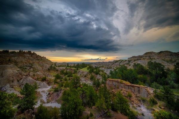 Overlook At Makoshika State Park - Makoshika State Park, Glendive, Eastern Montana