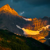 Peak Of Glory - Swiftcurrent Lake, Many Glacier, Glacier National Park, Montana