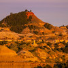 Overlook View At Sunset - Makoshika State Park, Glendive, Eastern Montana
