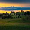 Amazing Light Over The Hills Of Medicine Rocks - Medicine Rocks State Park, Eastern Montana