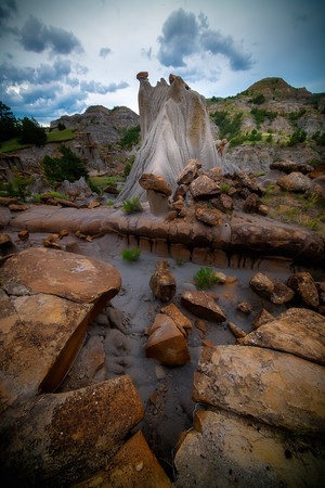 Icilies Of Time - Makoshika State Park, Glendive, Eastern Montana