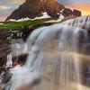Logans Pass Sunset - Glacier National Park, Montana