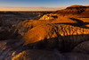 Last Light Glow In The Bisti Badlands -  Bisti/De-Na-Zin Wilderness, New Mexico