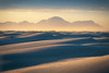 Golden Light Shadows And Curves - White Sands National Monument, New Mexico