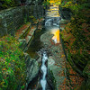 Water Cracks Through Canyon Walls - - Robert Treman Park, Finger Lakes Region, Upstate NY, NY