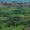 Rolling Grasslands Of The Badlands - Theodore Roosevelt National Park, North Dakota