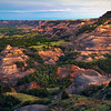 The Deep Vallleys Of Badlands - Theodore Roosevelt National Park, North Dakota