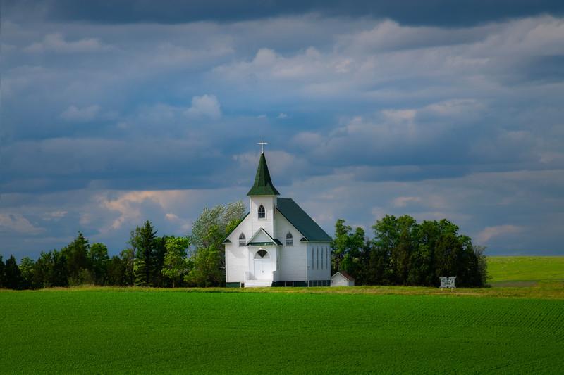 The Neuburg Church In Afternoon Light