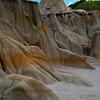 Tropical Looking Rocks In Badlands - Theodore Roosevelt National Park, North Dakota