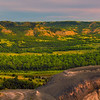 Pano Of Theodore Roosevelt From Badlands Overlook - Theodore Roosevelt National Park, North Dakota