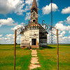 The Old Schoolhouse -  Bethesda, Little Missouri, North Dakota