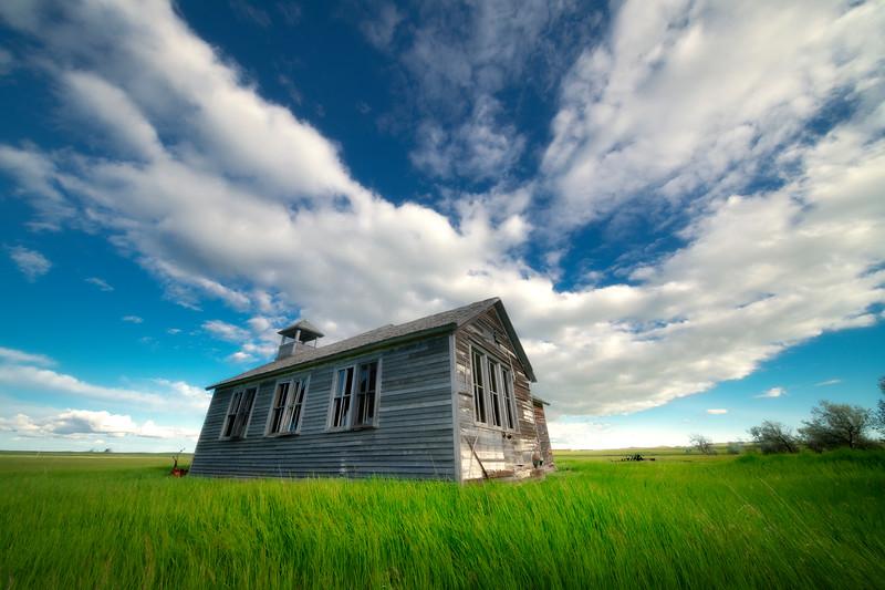Lost On A Spring Afternoon - Rhame, North Dakota