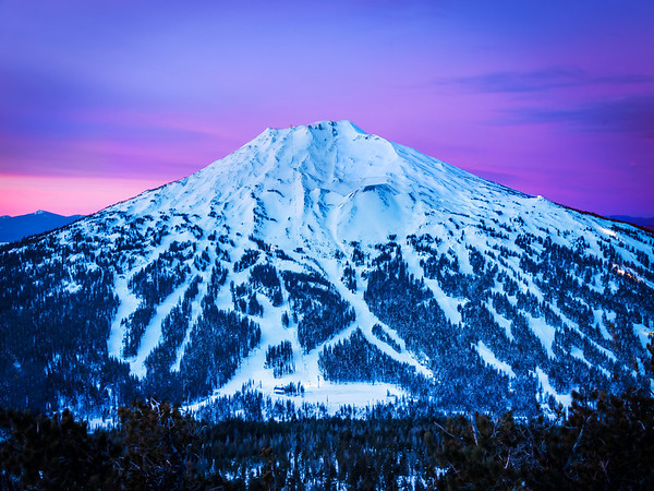 Dark Twilight Mysteries Of Tumalo Moutain - Bend, Oregon St.
