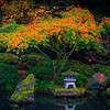 Reflections Of A New Season Mixed With History - Portland Japanese Garden, Oregon St