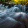 Dreamlike Textures Skimming Across These Falls-Ricketts Glen State Park, Benton,  Pennsylvania