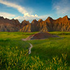 A Pathway That Leads Into The Abyss - Badlands National Park, South Dakota