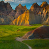 A Walking Path That Points Into Escape - Badlands National Park, South Dakota