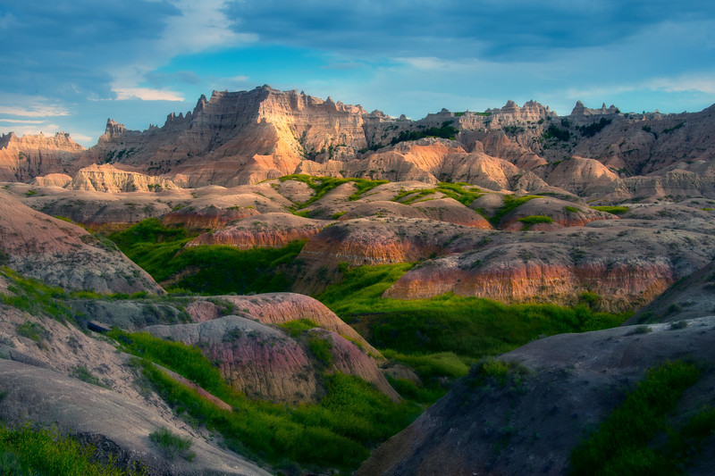 Fortress On The Hill - Badlands National Park, South Dakota