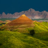 Glow Of Stormy Light - Badlands National Park, South Dakota