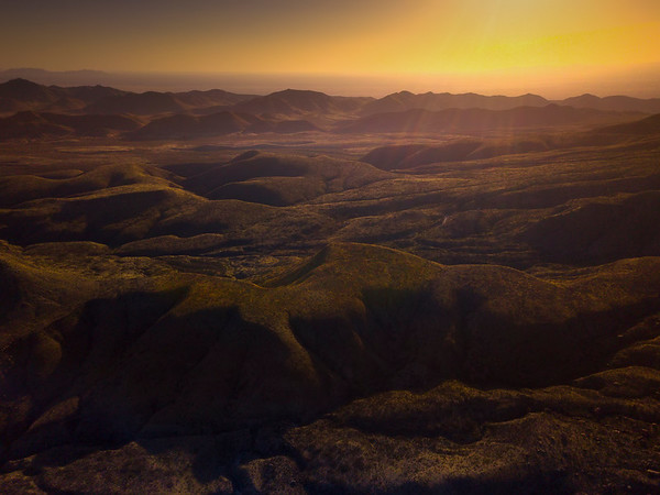 Last Of The Light Showcasing The Guadalupe Peaks - Guadalupe Mountains National Park and Chihuahuan Desert, West Texas