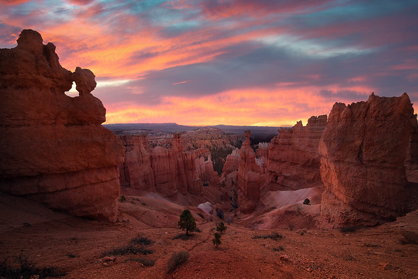 Light Explosion On The Hoodoos - Bryce Canyon National Park, Utah