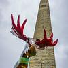 Looking Up At The Bennington Memorial - Vermont