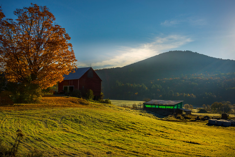 Life Out In The Rural Area Of Vermont