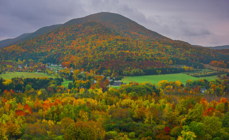 Color All The Way To The Very Top - Vermont