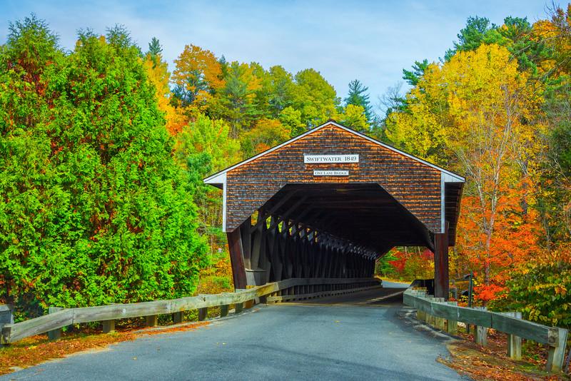 The Shipwater Covered Bridge