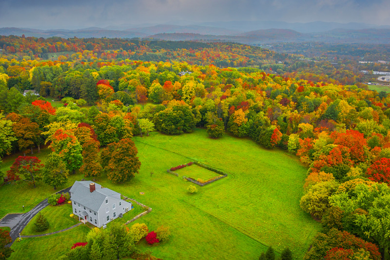 Nothing But Colors For Miles And Miles - Vermont