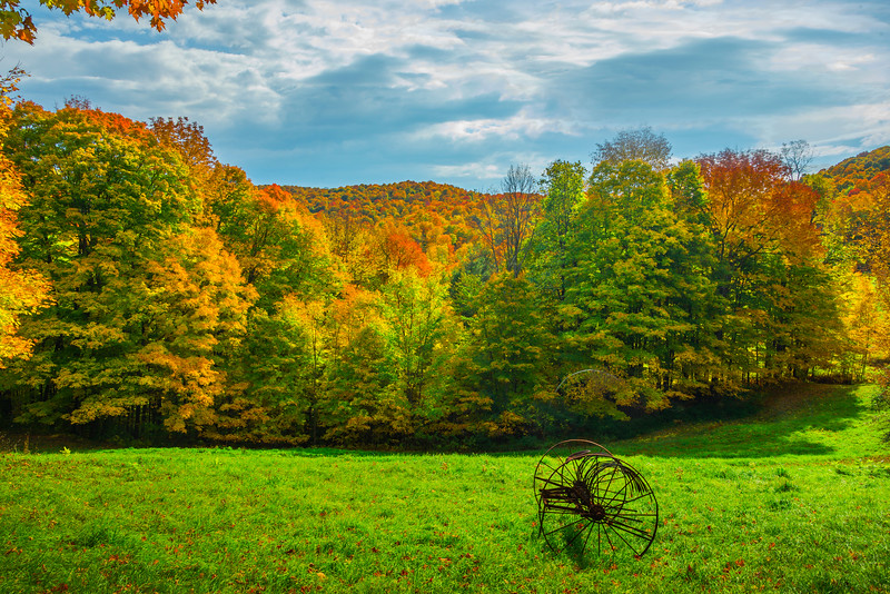 Surrounded By History And Color - Vermont