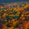 A Glimpse Of The Vermont Hillside