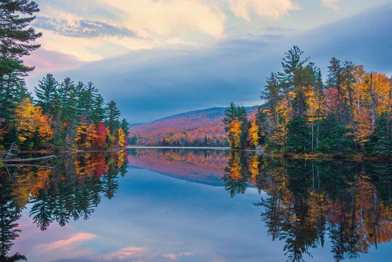 Framed In All Sorts Of Colors - Vermont