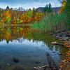 One Of Many Views Along Chittenden Reservoir_ - Vermont