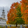 Autumn In Small Town Vermont Cementry - Vermont