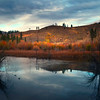 Beaver Pond Autumn Highlights - Methow Valley, Washington State