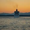 A Popular Cruiseline Sailing Away  - Seattle Waterfront - Seattle, WA