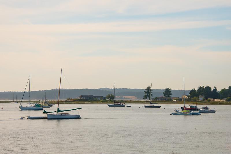 A Harbor Of Relaxation - Lopez Island - San Juan Islands, WA