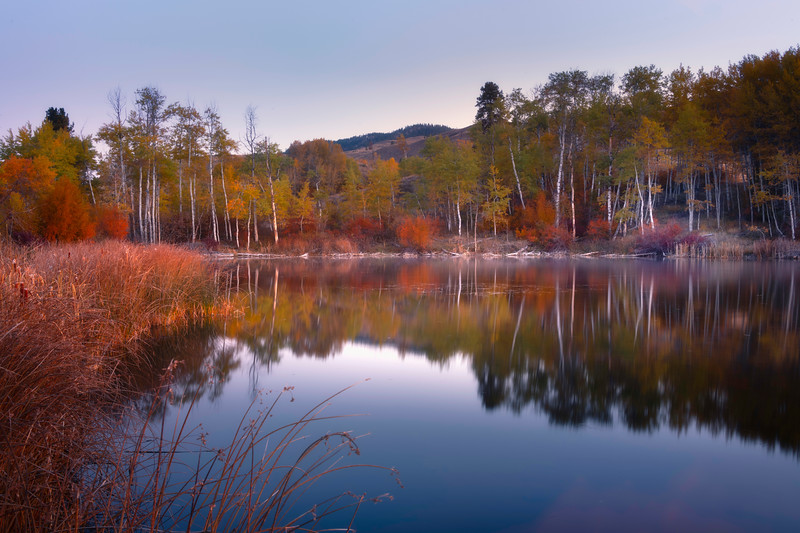 Autumn Glory Shines In Pearrygin Lake - Methow Valley, Washington State