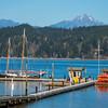 View From The Alderbrook Resort Of The Olympics - Alderbrrok Resort & Spa, Union, Washington