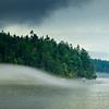 Rolling Fog In Puget Sound