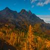 Looking Out At Ingalls Peak - Mt Stuart, Lake Ingalls, Alpine Lakes Wilderness, WA