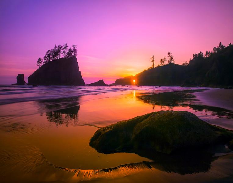 - Second Beach, Olympic National Park, Washington
