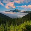 Rising Through The Valley - Hurricane Ridge, Olympic National Park, WA