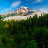 Mount Rainier From Pinnacle Peak Trail - Mt Rainier National Park, WA