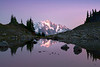Mt Shuksan Reflected In Cool Tones - North Cascades National Park, WA