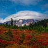Mt Rainier Dressed In Lenticular Dressing - Paradise Side, Mt Rainier National Park, WA
