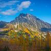 Mt Stuart And Larch Season - Mt Stuart, Lake Ingalls, Alpine Lakes Wilderness, WA